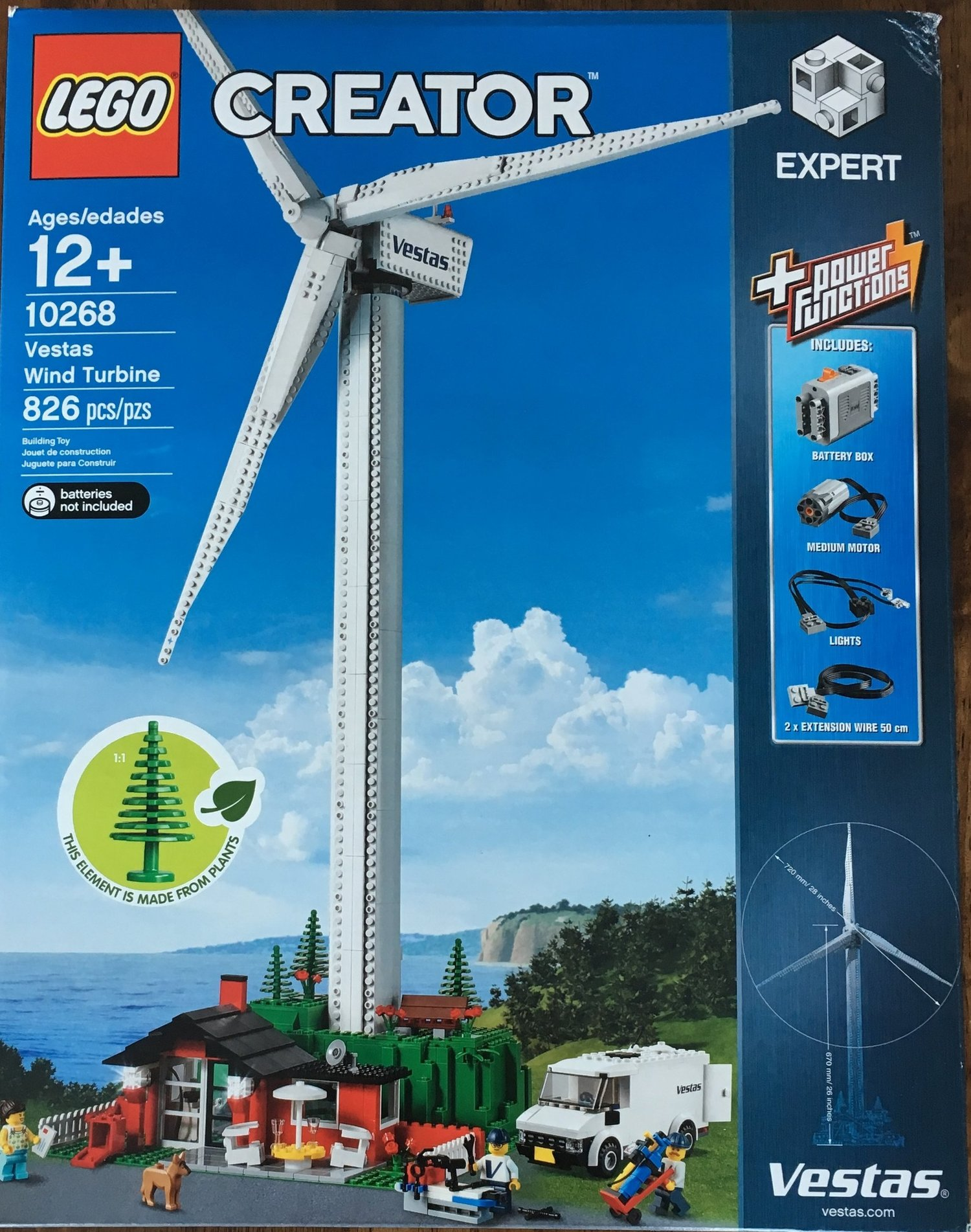 Set Review - #10268-1 - Vestas Wind Turbine - Creator Expert