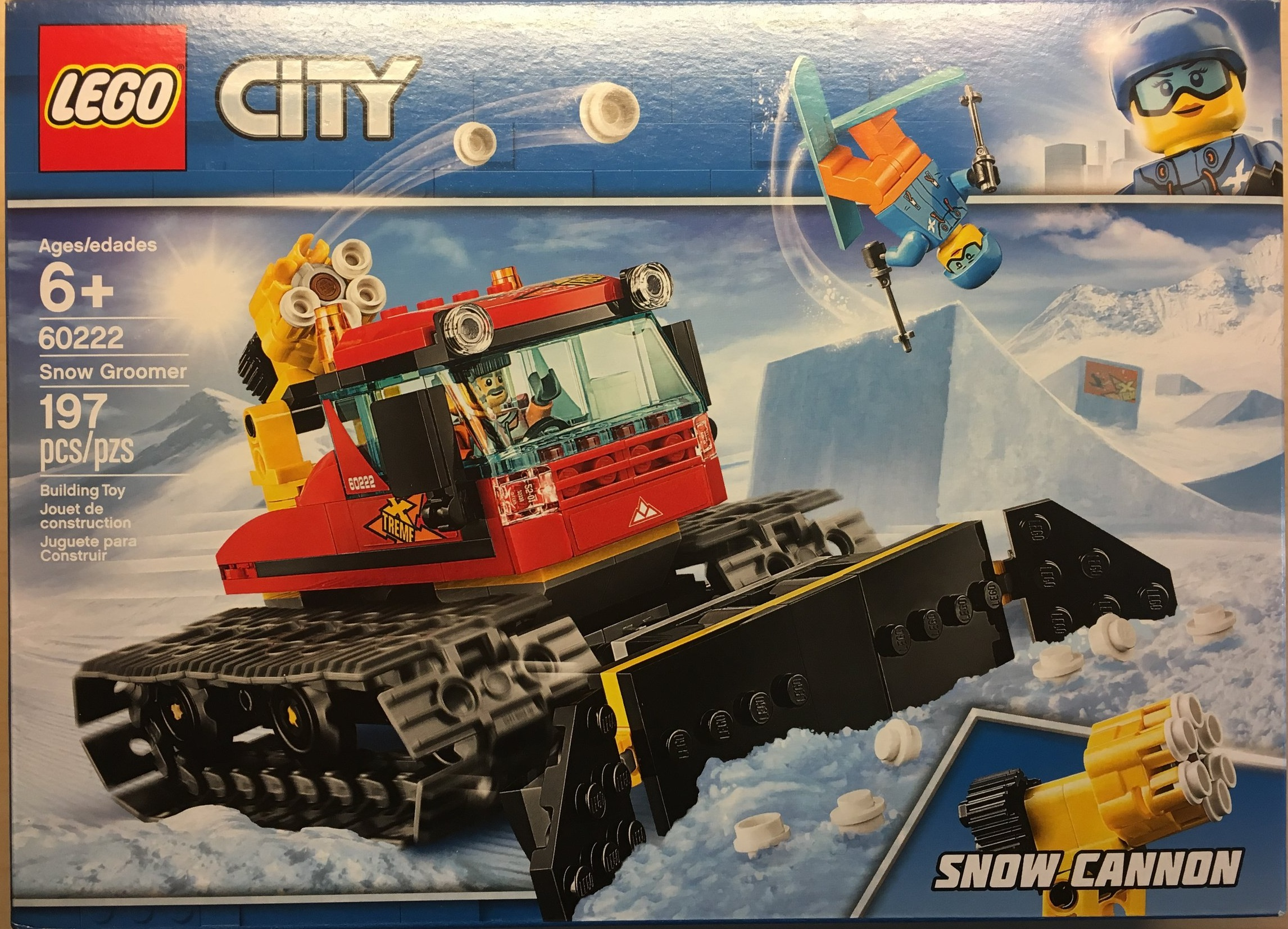 1Snow Review60222 Set Groomer City Lego 8nwmN0
