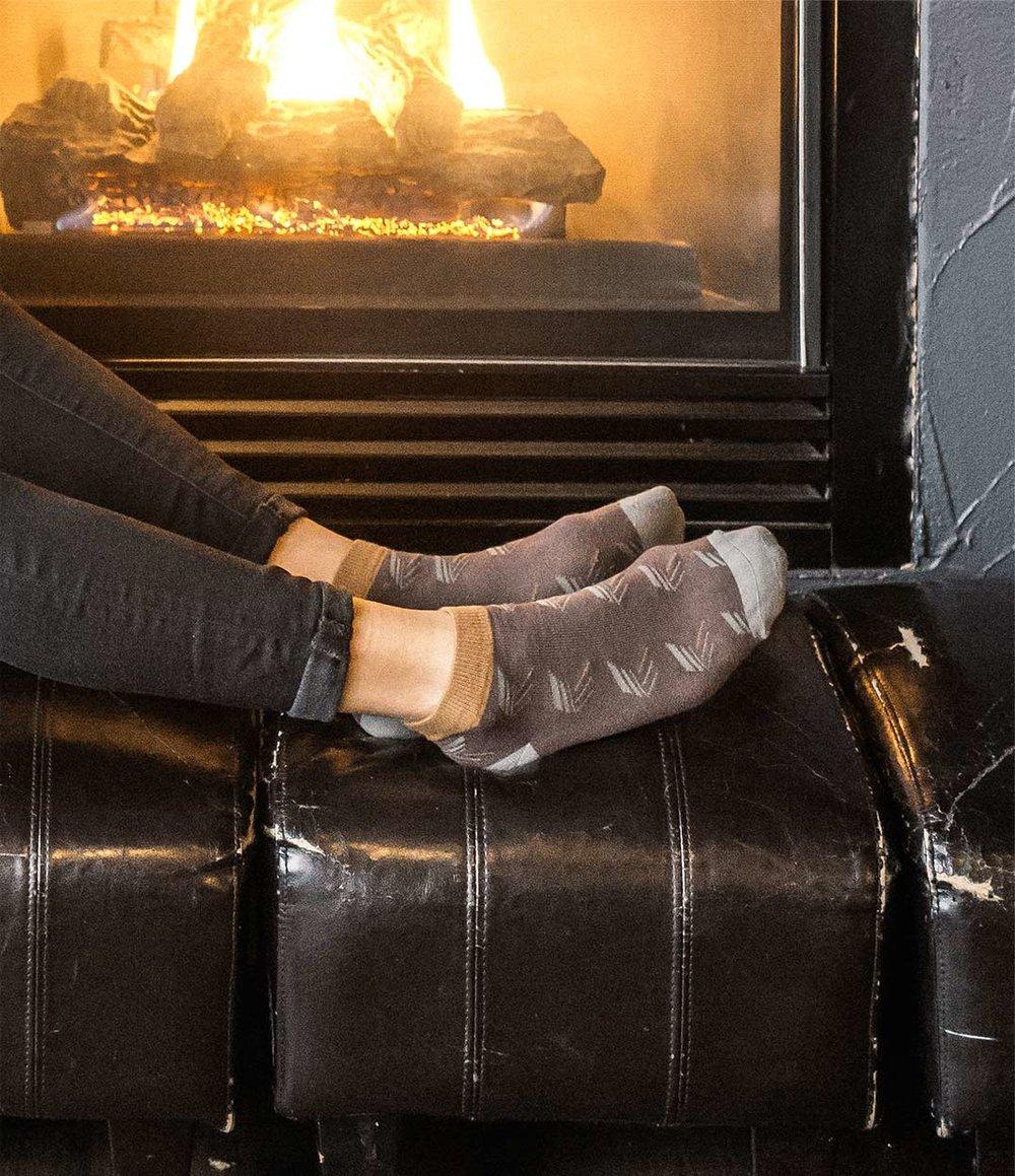 Pattern Ankle Socks - Urban Drawer