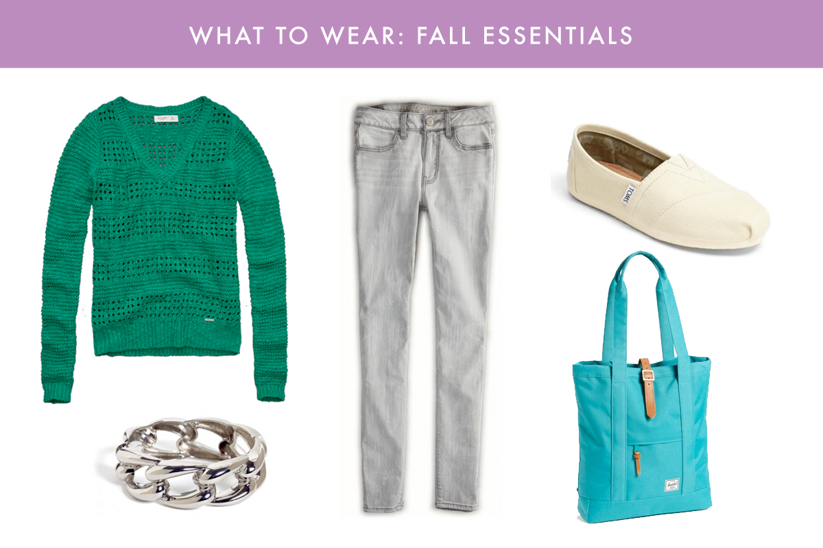what to wear: fall essentials