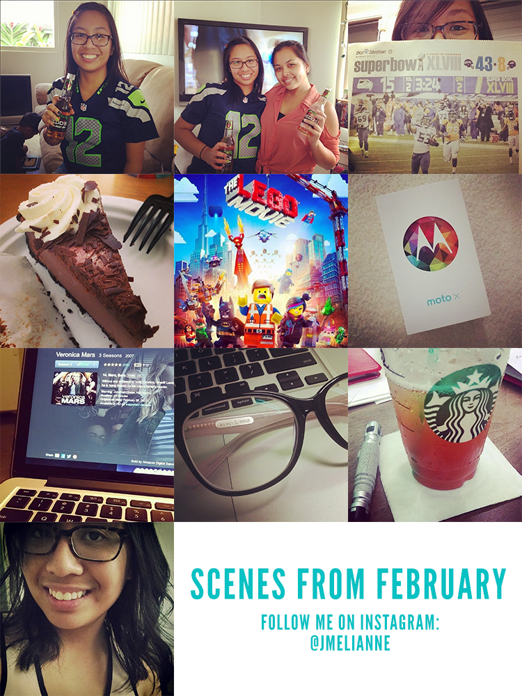 scenes from february
