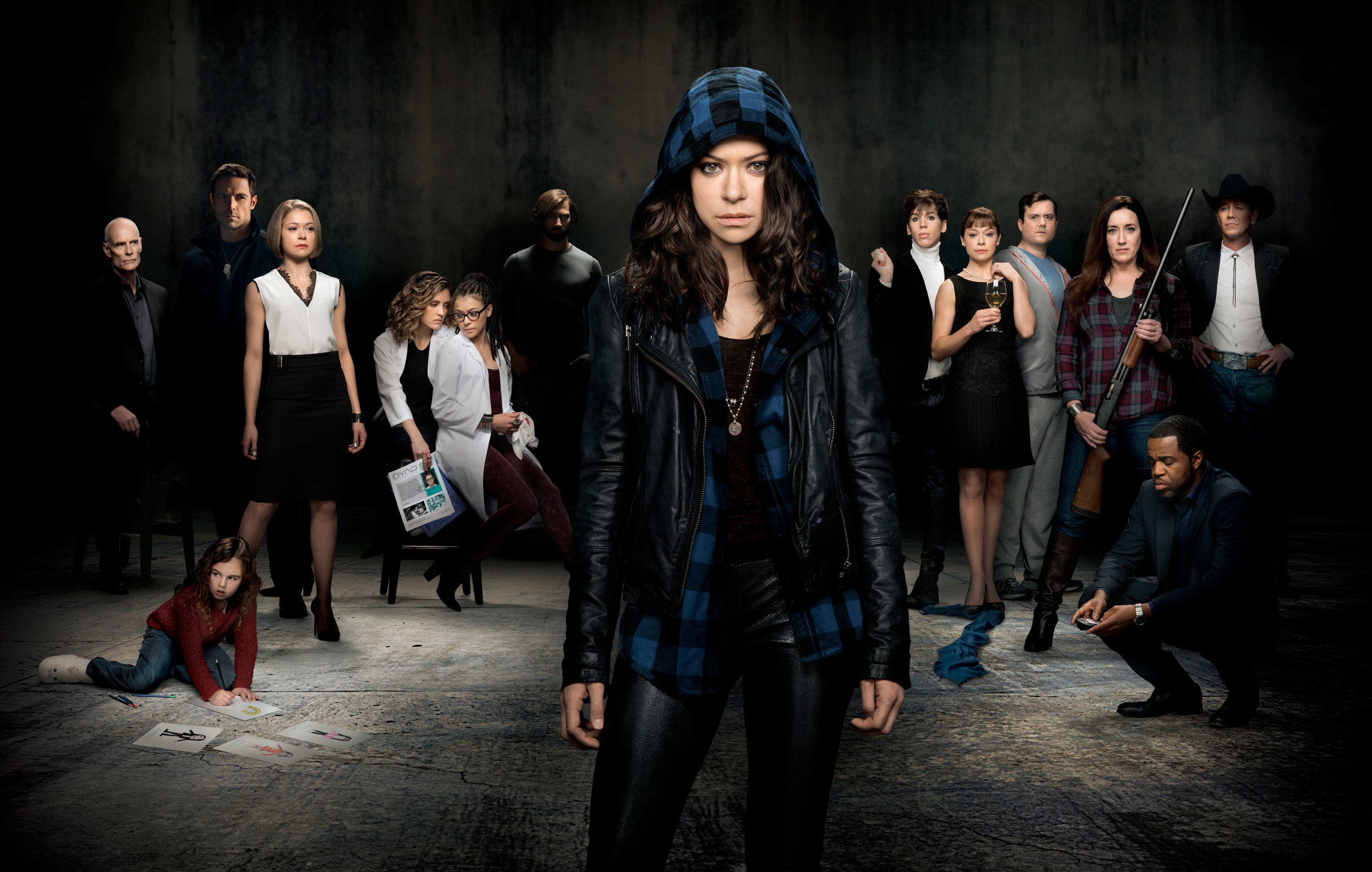 you should be: watching orphan black