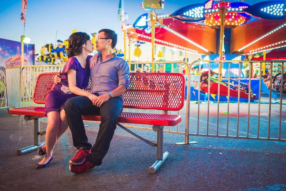 OC Fair Engagement | Stephen Grant Photography