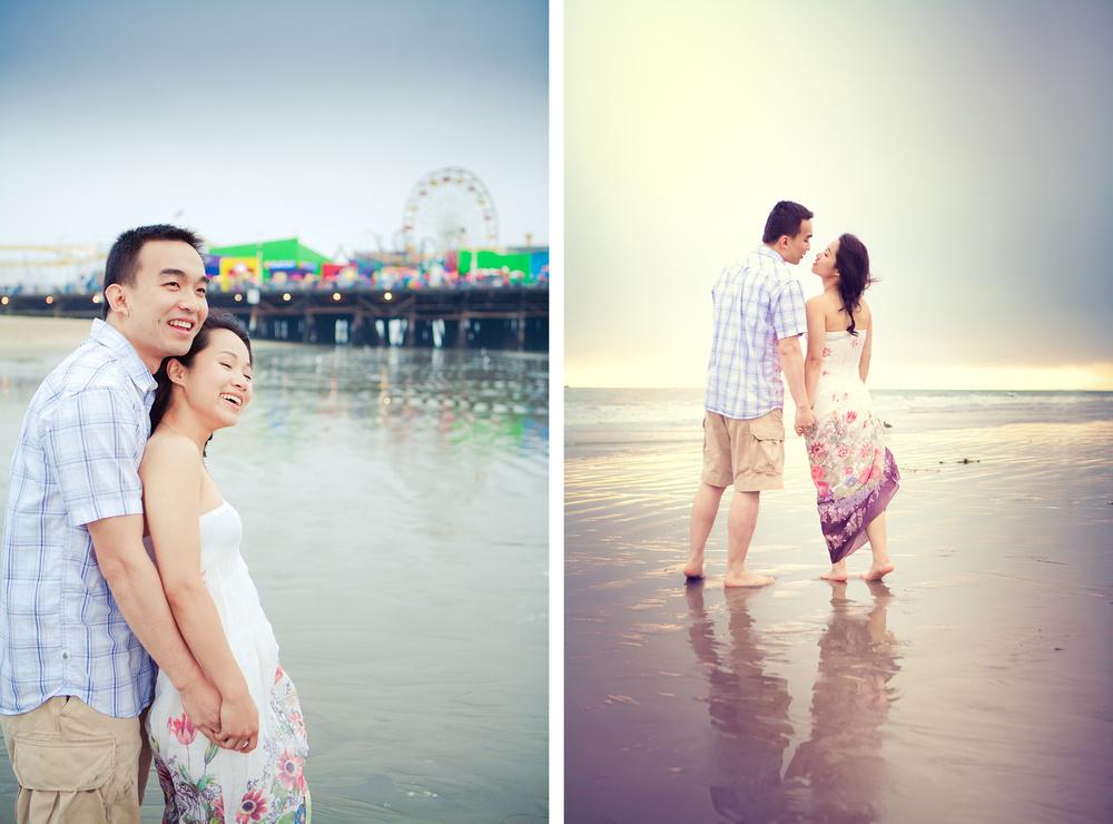 Santa Monica Engagement | Stephen Grant Photography