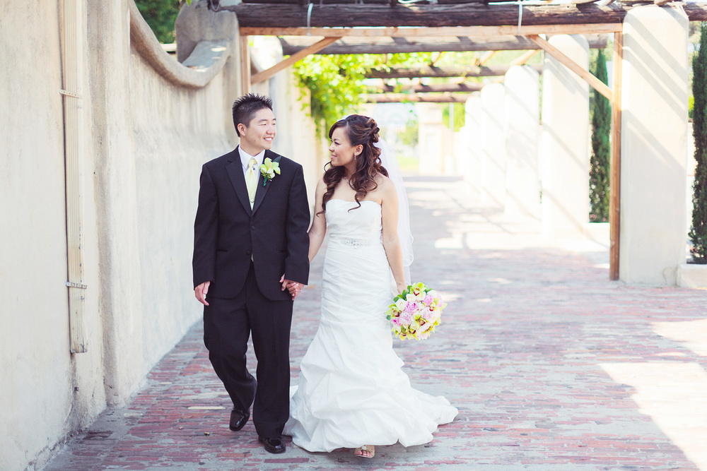 San Gabriel Mission Wedding | Stephen Grant Photography