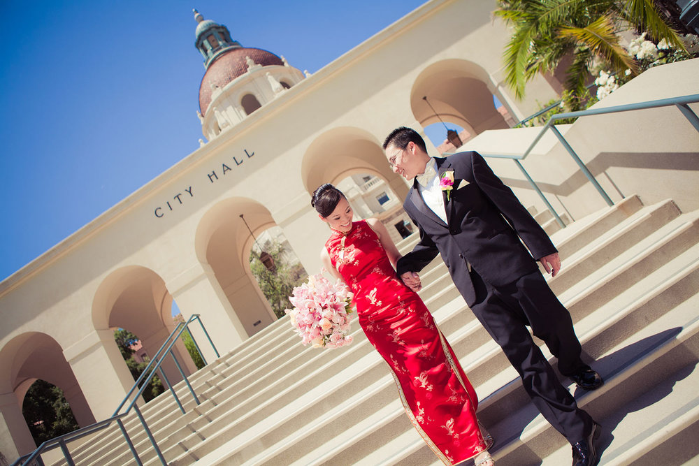 Pasadena City Hall Wedding | Stephen Grant Photography