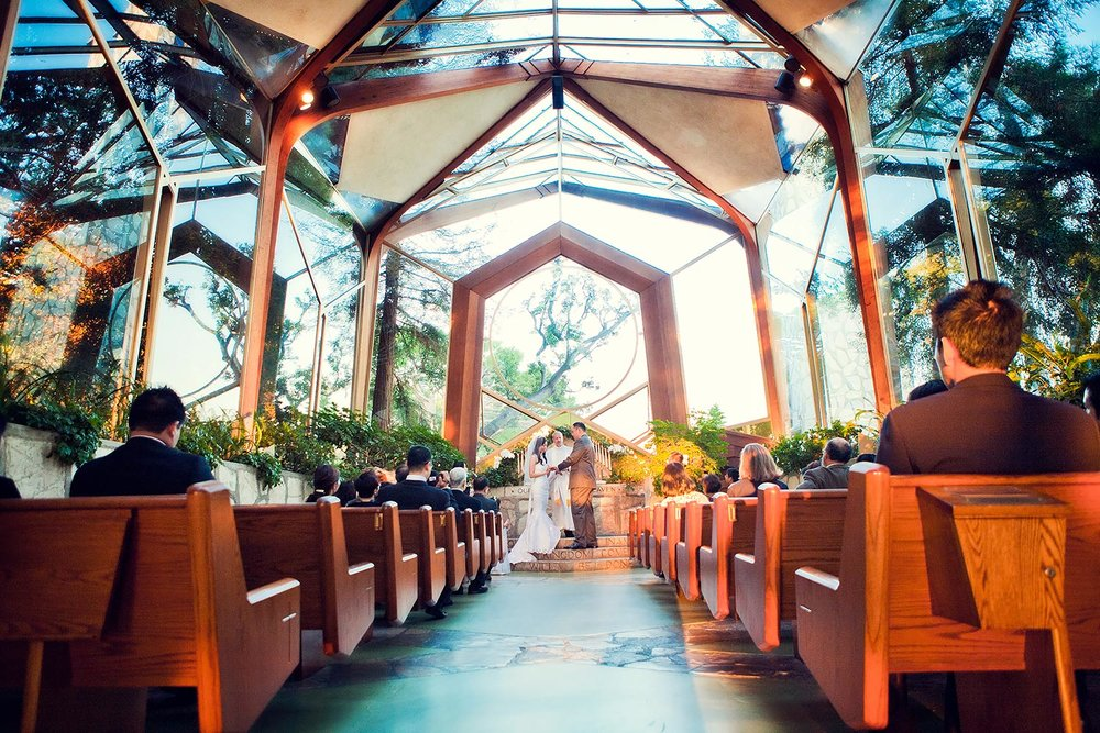 Wayfarer Chapel Wedding | Stephen Grant Photographer