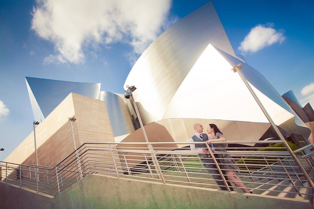 Walt Disney Concert Hall Engagement | Stephen Grant Photography