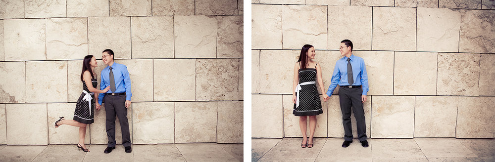 Getty Center Engagement | Stephen Grant Photography