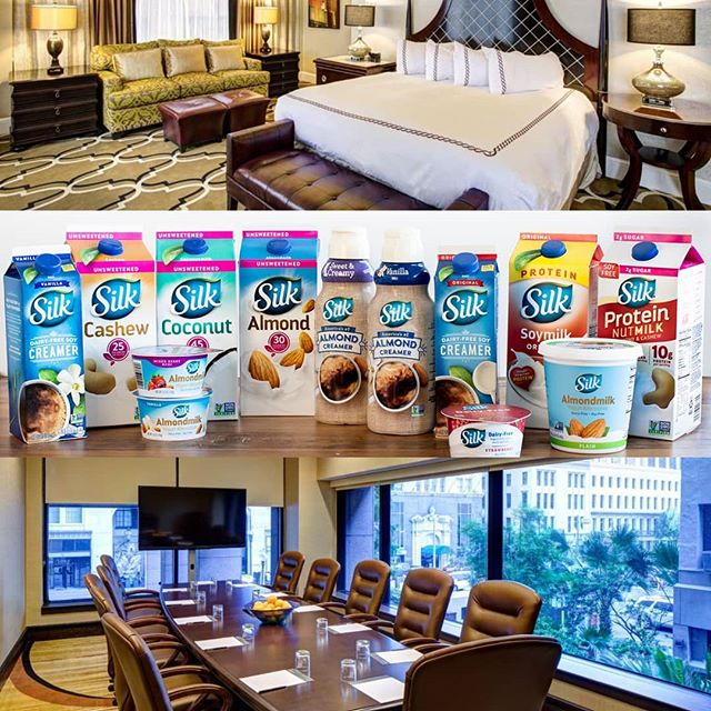 HUGE Shout Out to one of our dearest clients  @danonenorthamerica #nutricia ! It has been a pleasure working with you and we sincerely hope your staff enjoys the luxurious guestrooms..meeting space..food and beverage + gorgeous property. Looking forward to working with you again soon!  To all our followers..be sure to try one of these Amazing dairy free products! You can find them at virtually any grocery store. Cheers!  #vegan #dairyfree #organic #fitlife #instafit #health #wellness #travel #orleans #nutrition #neworleans #hotel #luxurytravel #instatravel #business #booking #hotelroom