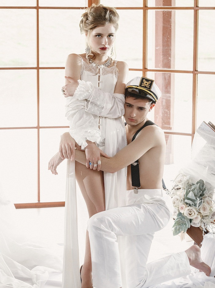 THE VIRGIN BRIDES EDITORIAL