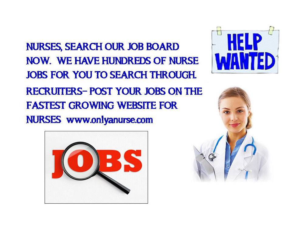 Jobs for nurses, Nurse recruiters-post your jobs with us