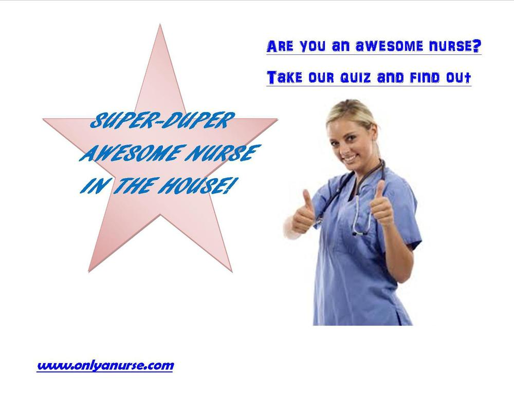 Awesome nurse quiz