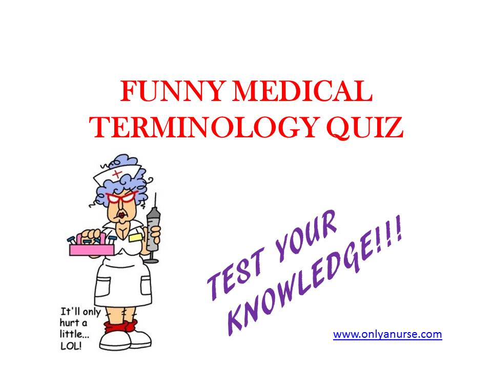 Medical terminology quiz. test your knowledge
