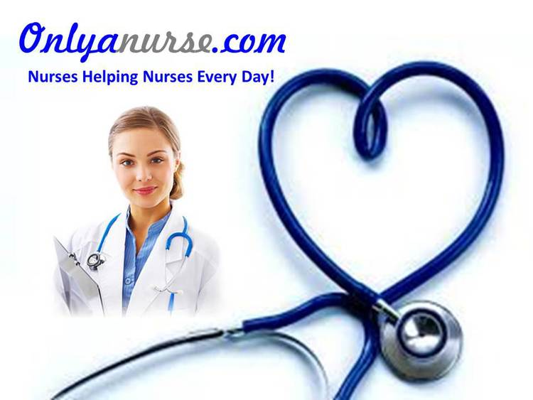 Onlyanurse,com Nursing Community