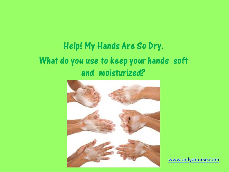 Handwashing and dried, cracked hands, What's the best lotion for cracked hands?
