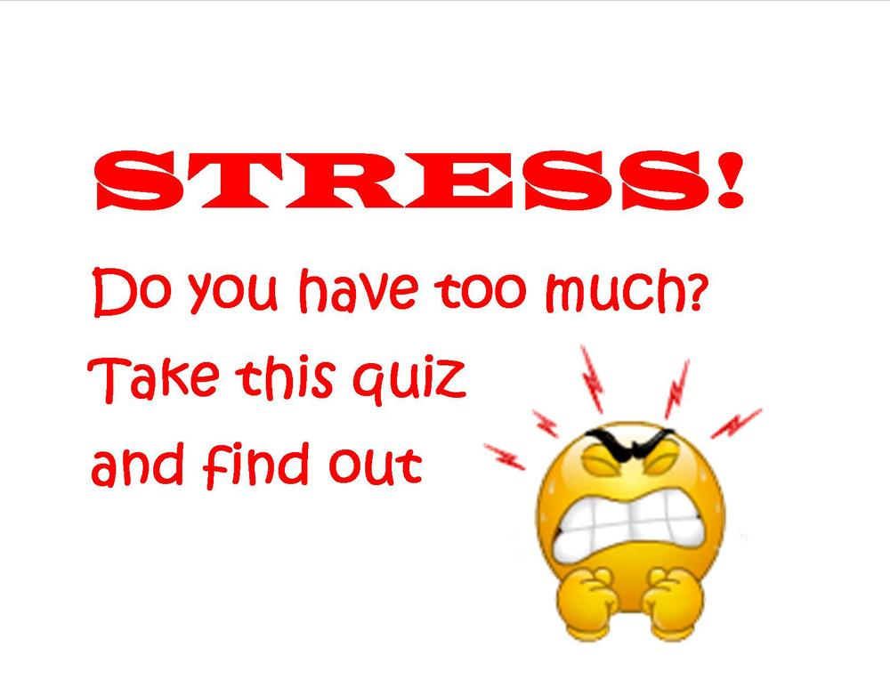 Is your job causing you too much stress? Take this quiz and find out