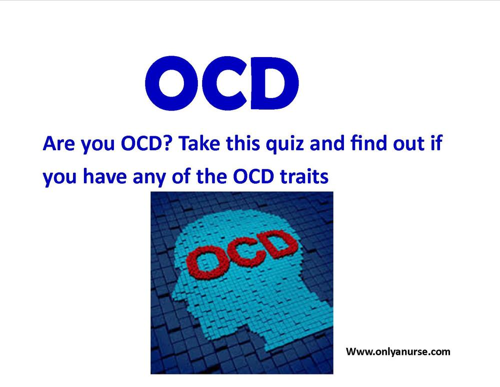 Are you OCD? Take this quiz and see if you have OCD traits