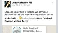 Amanda Francis, Nurse fired for posting on social media, nurse fired for posting of Facebook