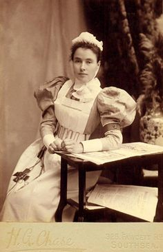 Nurse in the Victorian era