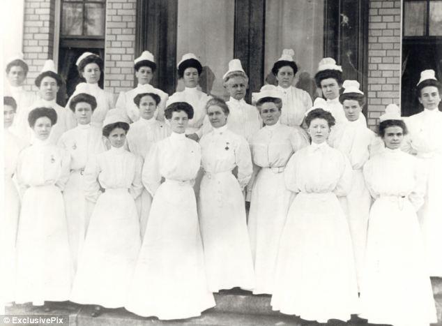 Early 1900's Nursing class