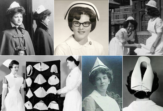 The history of the nurses hat