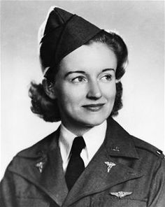 In July 1943, 2nd Lt. Ruth M. Gardiner died in an aircraft crash en route to evacuating patients in Alaska. She was the first USAAF flight nurse killed in a combat theater. (U.S. Air Force photo)