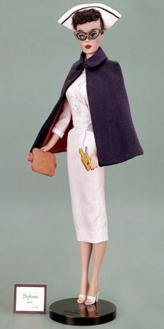 Registered Nurse Barbie from 1961......This is great!