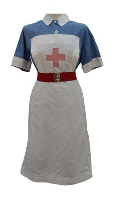 1940s Nurse Uniform 11. How would you like to wear this to work