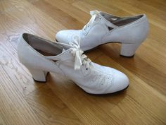 1930s nursing shoes. I love these, but I don't know if I would want to wear them to work in.