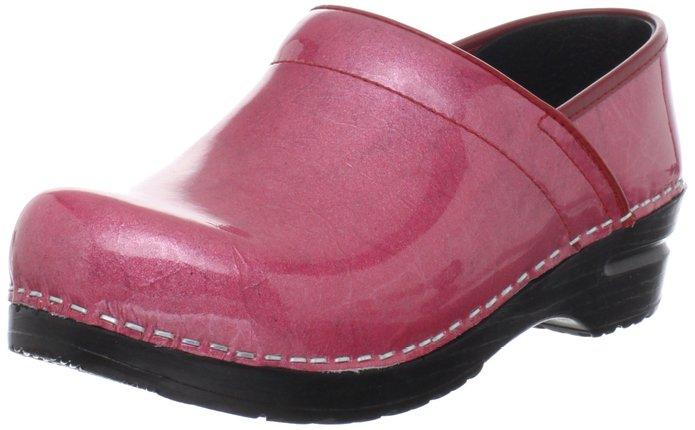 Sanita Pink Pearl Clog