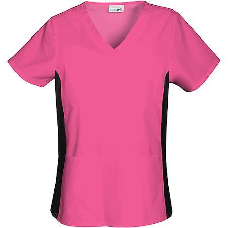 63be8cc4293 SCRUBSTAR Women's Premium Collection Flexible V-Neck Scrub Top ...