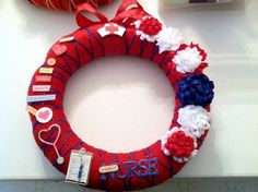 Medical christmas wreath