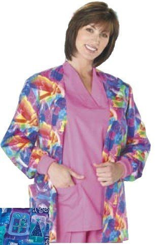 Medline 6109XSPRXXL Peaches Cardigan Jacket Christmas Sparkle