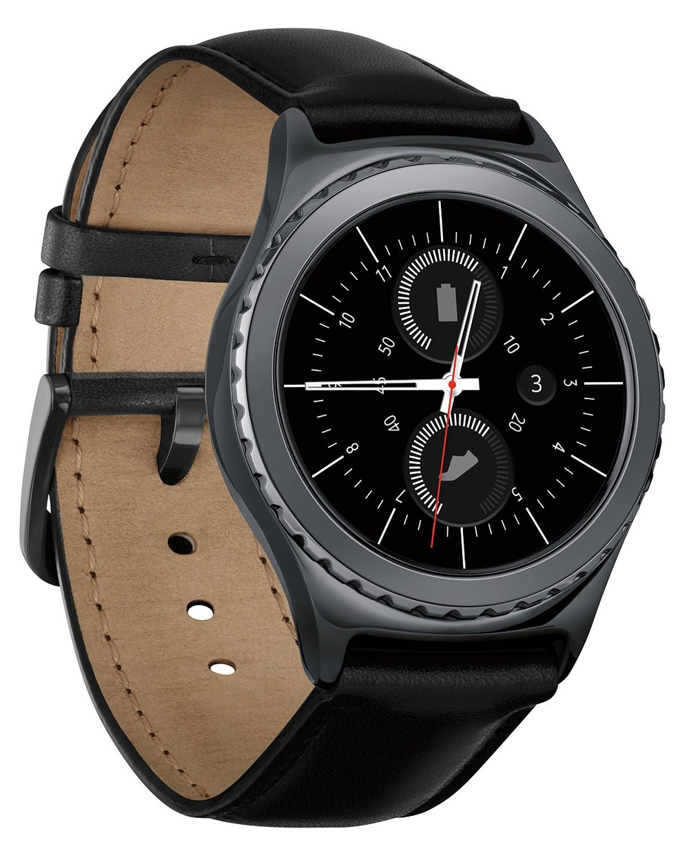 Samsung SM-R7320ZKAXAR Gear S2 Smartwatch for Most Android Phones - Classic