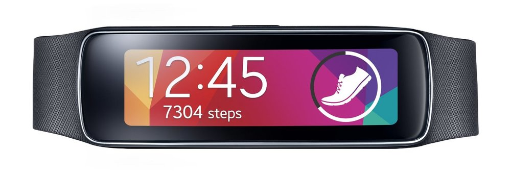 Samsung Gear Fit Smart Watch, Black (US WARRANTY)