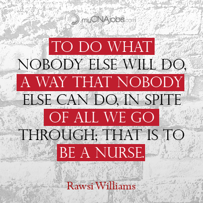 Weekly dose of inspiration for nurses