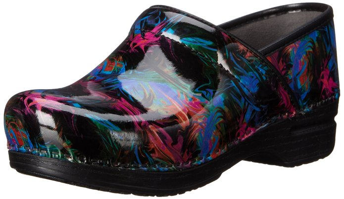 Dansko Women's Pro XP Color Pop Patent Mule