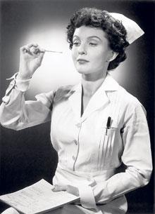 You don't see this anymore-nursing practices from the past
