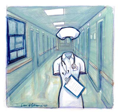 Nurses-the invisible life savers