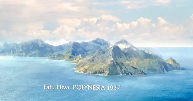 Fatu Hiva! A beautiful island. Thor Heyerdahl found his Paradis Island and moved with his wife Liv to Fatu Hiva 1937. But they got ill and had to go home to Norway after a year. We had lovely hikes on the island. It's beautiful!