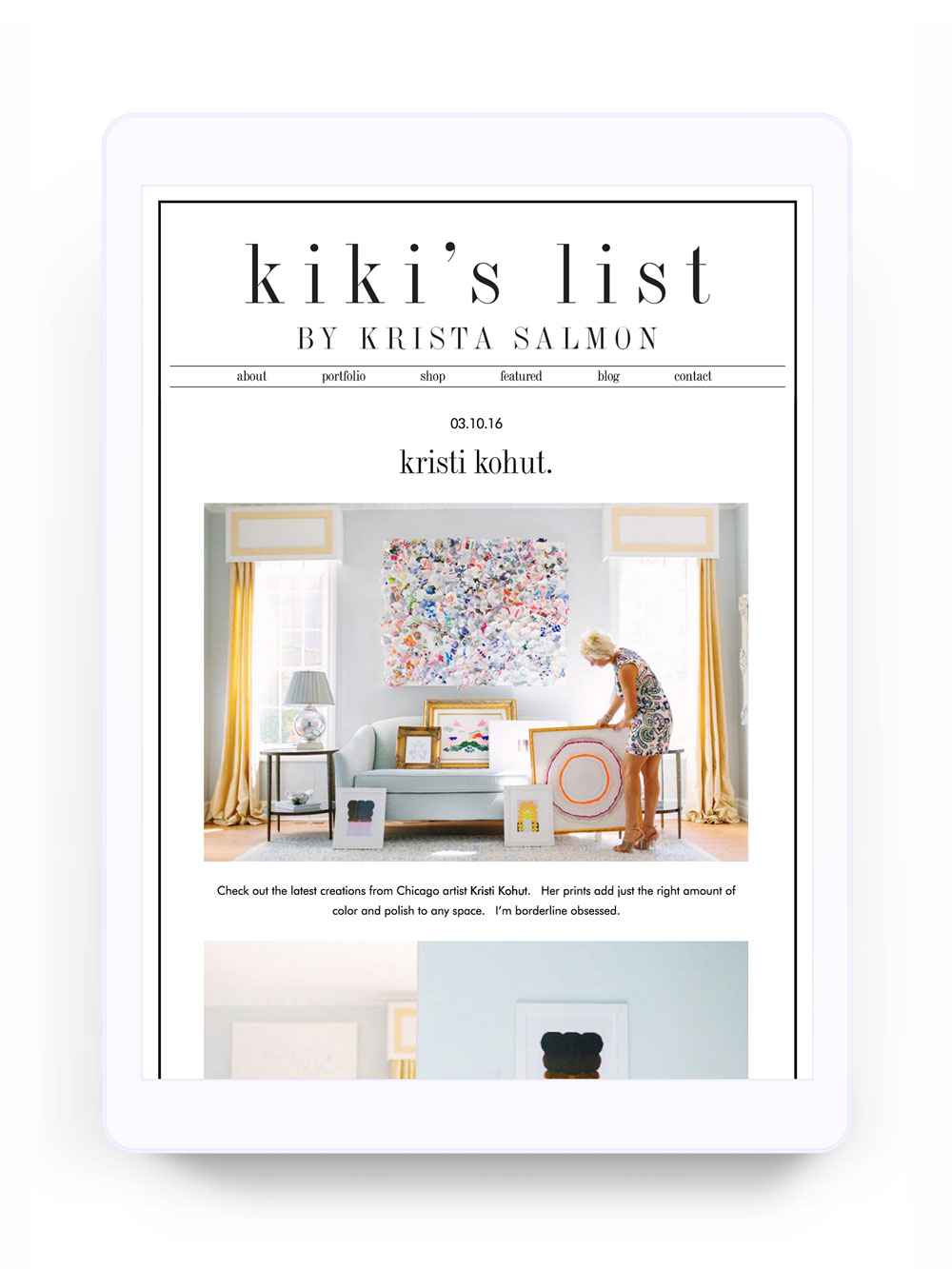 Kiki's List