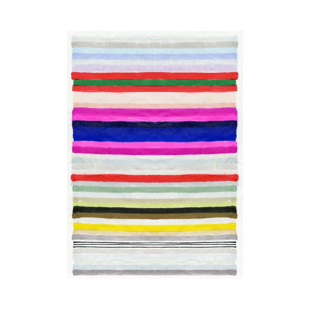 CHROMATIC HARMONY #3 - TRADITIONAL GALLERY PRINTCANVAS GALLERY WRAPLUXE LUCITE SHADOWBOX
