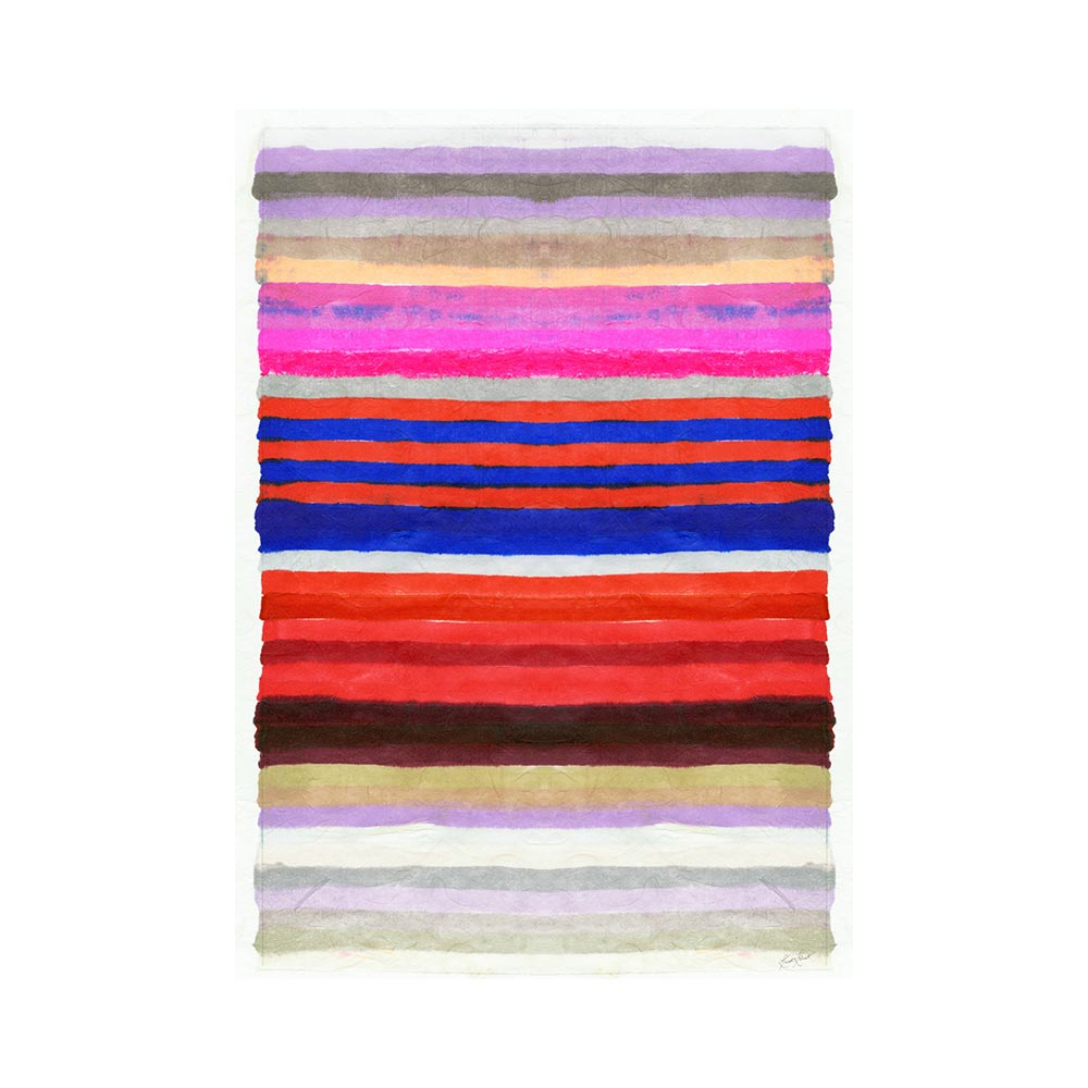 CHROMATIC HARMONY #4 - TRADITIONAL GALLERY PRINTCANVAS GALLERY WRAPLUXE LUCITE SHADOWBOX