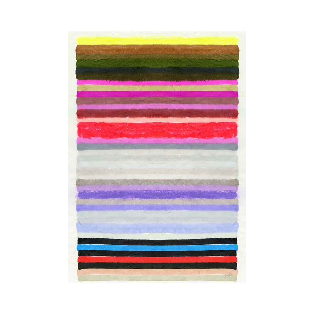 CHROMATIC HARMONY #6 - TRADITIONAL GALLERY PRINTCANVAS GALLERY WRAPLUXE LUCITE SHADOWBOX