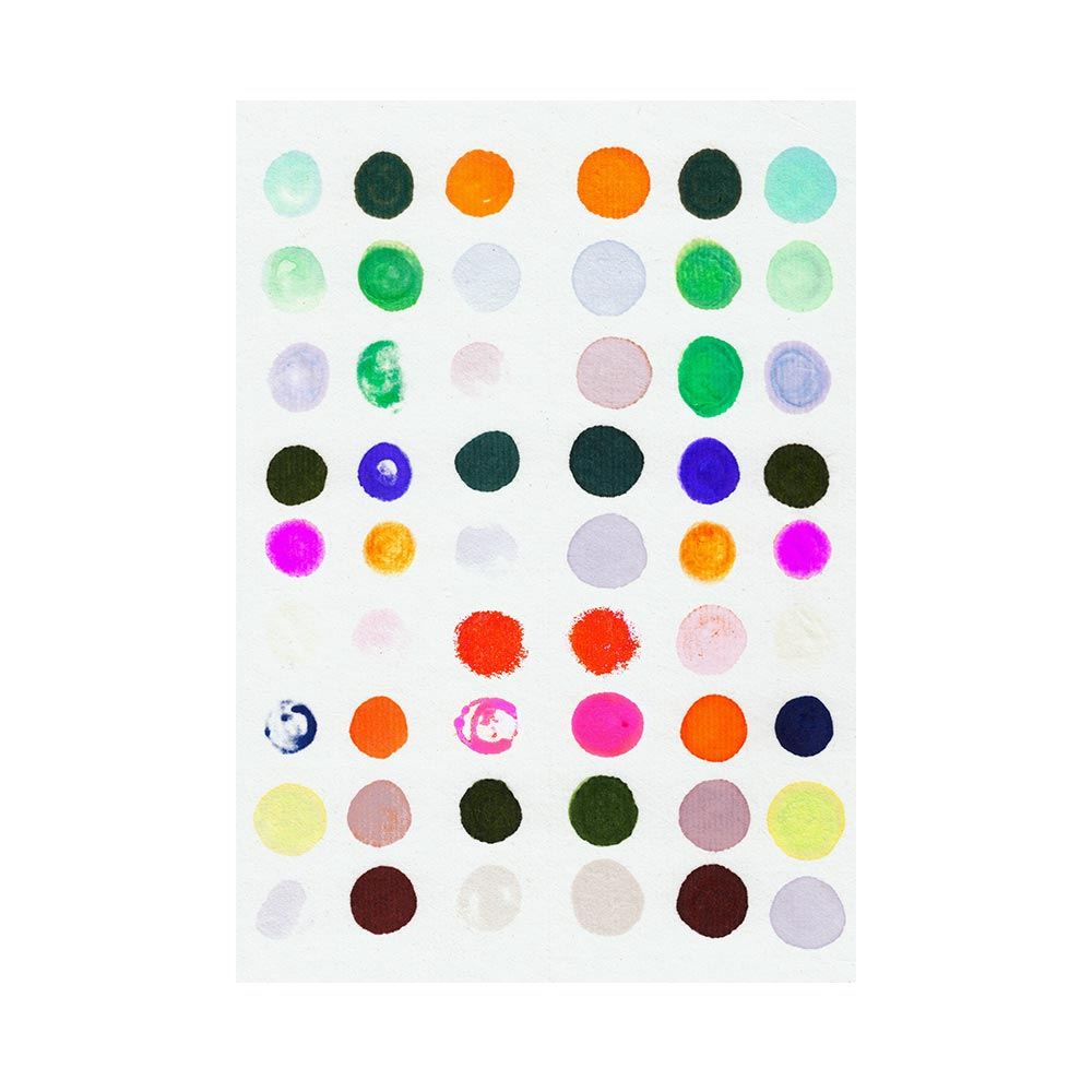DOTS 4 - TRADITIONAL GALLERY PRINTCANVAS GALLERY WRAPLUXE LUCITE SHADOWBOX