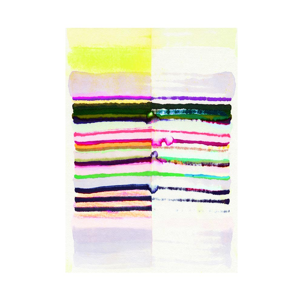 SAILING STRIPES 3 - TRADITIONAL GALLERY PRINTCANVAS GALLERY WRAPLUXE LUCITE SHADOWBOX