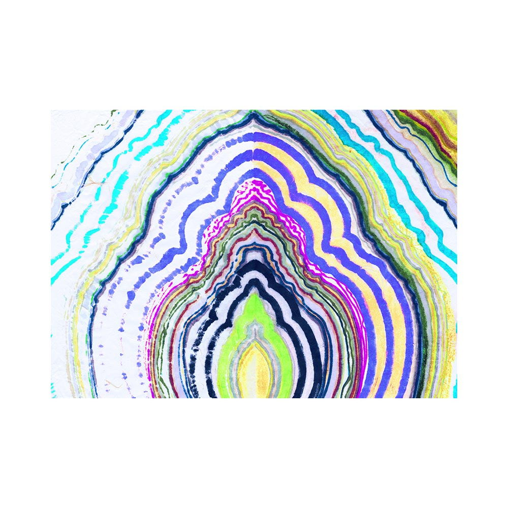 POP SUGAR AGATE 3 - TRADITIONAL GALLERY PRINTCANVAS GALLERY WRAPLUXE LUCITE SHADOWBOX