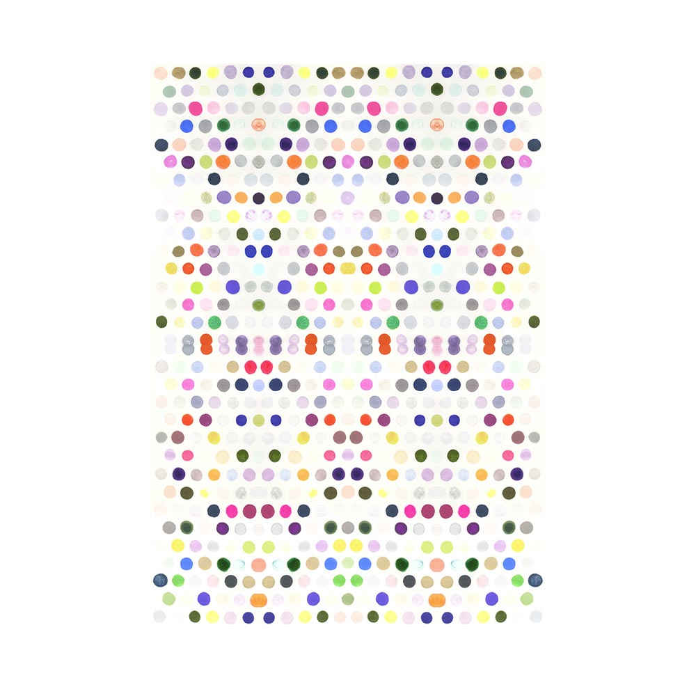 DOTS 5 - TRADITIONAL GALLERY PRINTCANVAS GALLERY WRAPLUXE LUCITE SHADOWBOX