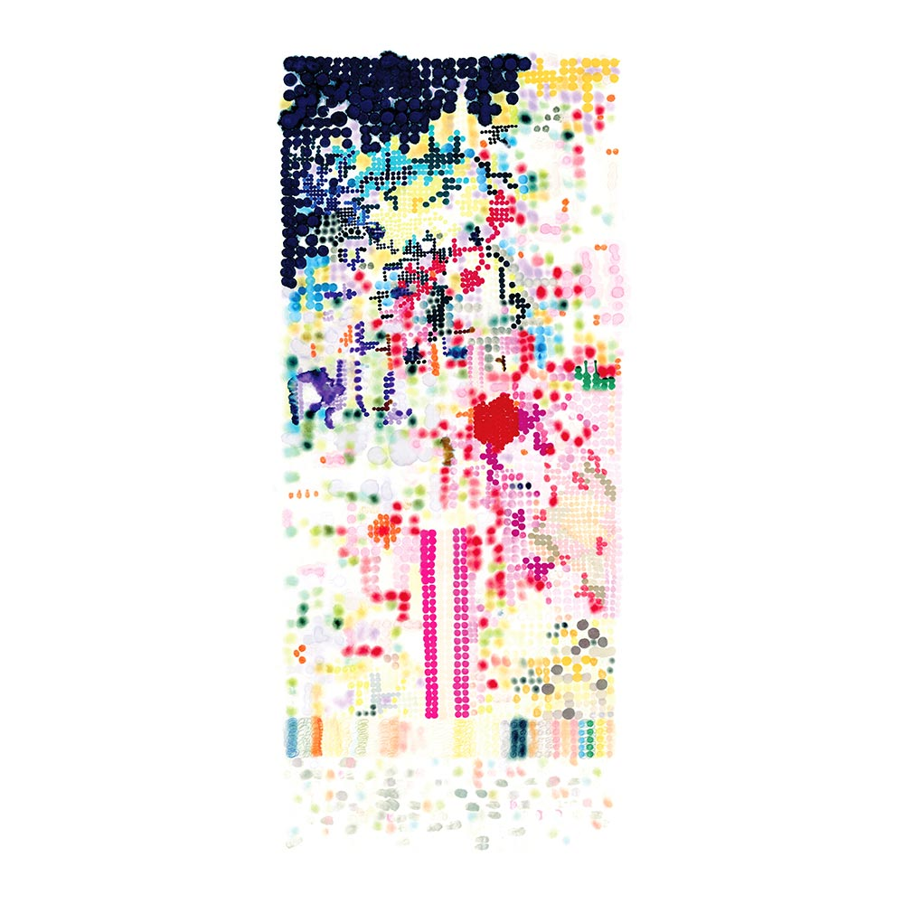 PIXELATED - TRADITIONAL GALLERY PRINTCANVAS GALLERY WRAPLUXE LUCITE SHADOWBOX